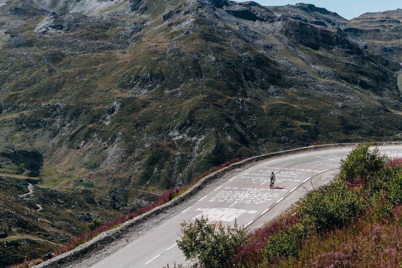 Voorbereiding op fietsen in de bergen