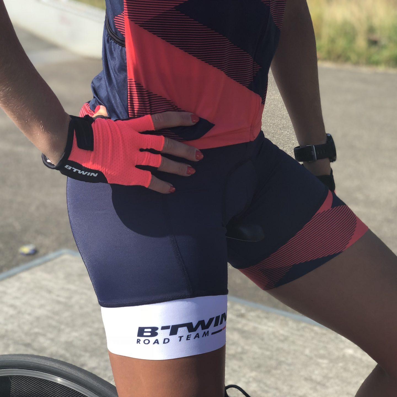 Kan ik een korte broek aan tijdens het wielrennen?