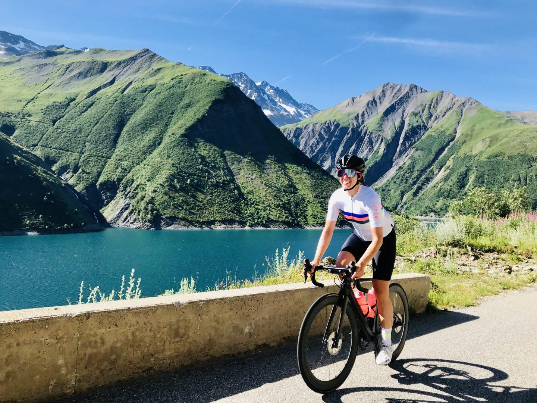 Fietsen in de Franse Alpen