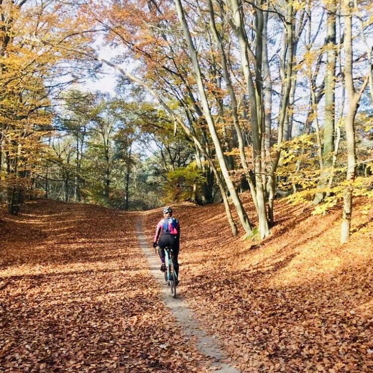 Buiten fietsen in de herfst- en wintermaanden