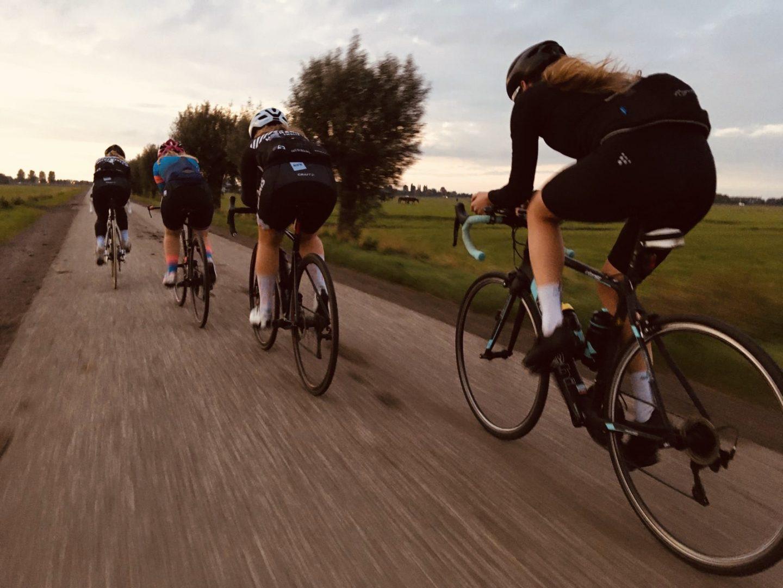 Mijn eerste keer: een wielerwedstrijd