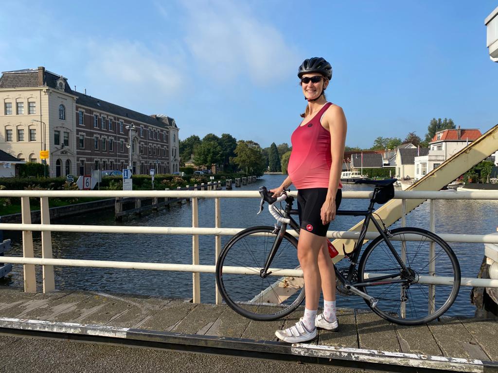 Inspirerend fietsverhaal: zwanger op de fiets