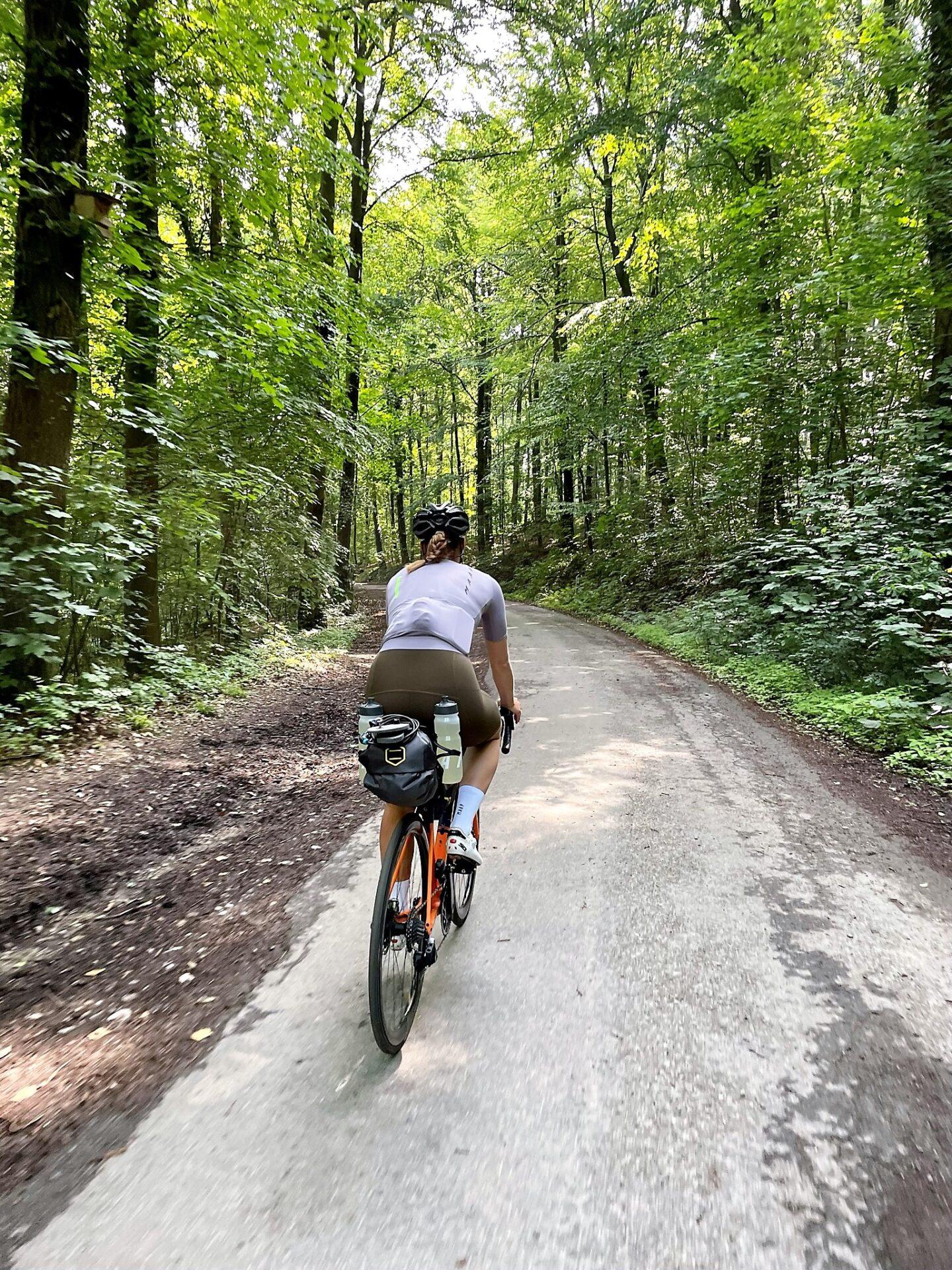 Mijn eerste keer: bikepacken in de Ardennen