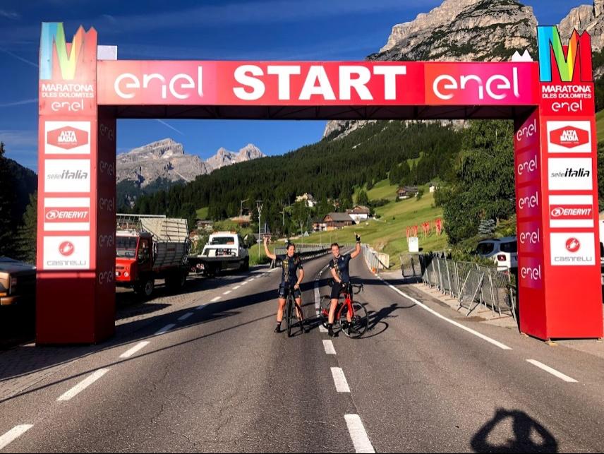 Inspirerend fietsverhaal: Maratona dles Dolomites